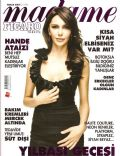 Hande Ataizi on the cover of Madame Figaro (Turkey) - December 2007