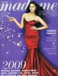 Nurgül Yesilçay on the cover of Madame Figaro (Turkey) - December 2008