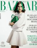 Anna De Rijk on the cover of Harpers Bazaar (Spain) - May 2014