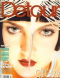Drew Barrymore on the cover of Detour (United States) - February 1998
