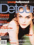 Drew Barrymore, Keri Russell on the cover of Detour (United States) - November 1998