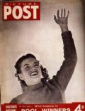 Marilyn Monroe on the cover of Picture Post (United Kingdom) - December 1947