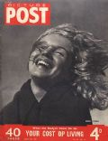 Marilyn Monroe on the cover of Picture Post (United Kingdom) - March 1949