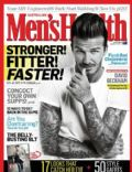 David Beckham on the cover of Mens Health (Australia) - April 2012