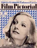 Greta Garbo on the cover of Film Pictorial (United Kingdom) - September 1934