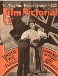 Claudette Colbert, Claudette Colbert and Gary Cooper, Gary Cooper, Ronald Colman on the cover of Film Pictorial (United Kingdom) - October 1936