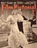 Fred Astaire, Marlene Dietrich on the cover of Film Pictorial (United Kingdom) - December 1936