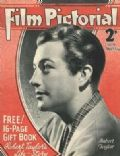 Robert Taylor on the cover of Film Pictorial (United Kingdom) - April 1937
