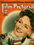 Greta Garbo on the cover of Film Pictorial (United Kingdom) - November 1937