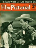 Dick Powell, Priscilla Lane on the cover of Film Pictorial (United Kingdom) - January 1939