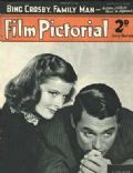 Cary Grant on the cover of Film Pictorial (United Kingdom) - February 1939