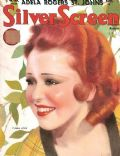 Clara Bow on the cover of Silver Screen (United States) - August 1933