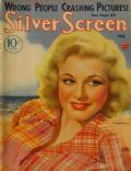 Ginger Rogers on the cover of Silver Screen (United States) - July 1934