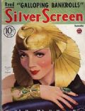 Claudette Colbert on the cover of Silver Screen (United States) - September 1934