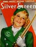 Sonja Henie on the cover of Silver Screen (United States) - January 1938