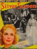 Alice Faye, Tyrone Power, Tyrone Power and Alice Faye on the cover of Silver Screen (United States) - September 1938