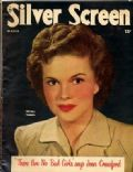 Shirley Temple on the cover of Silver Screen (United States) - March 1949