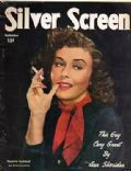 Paulette Goddard on the cover of Silver Screen (United States) - September 1949
