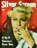 Rita Hayworth on the cover of Silver Screen (United States) - May 1951