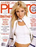 Britney Spears on the cover of American Photo (United States) - November 2003