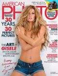 Gisele Bündchen on the cover of American Photo (United States) - December 2008