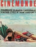 Claudia Cardinale on the cover of Cinemonde (France) - June 1966