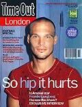 Fredrik Ljungberg on the cover of Time Out (United Kingdom) - August 2002