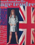 Jane Asher, Marianne Faithfull on the cover of Mademoiselle Age Tendre (France) - January 1967