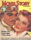 Clark Gable on the cover of Movie Story (United States) - May 1938