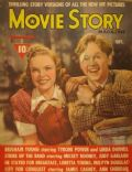 Judy Garland, Judy Garland and Mickey Rooney, Mickey Rooney on the cover of Movie Story (United States) - September 1940