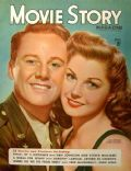 Esther Williams, Esther Williams and Van Johnson, Van Johnson on the cover of Movie Story (United States) - April 1945
