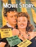 Glenn Ford, Rita Hayworth, Rita Hayworth and Glenn Ford on the cover of Movie Story (United States) - November 1948