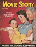 Elizabeth Taylor, Spencer Tracy on the cover of Movie Story (United States) - June 1951
