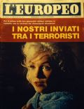 Marilyn Monroe on the cover of L Europeo (Italy) - February 1964