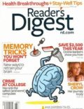 Sheryl Crow on the cover of Readers Digest (United Kingdom) - March 2008