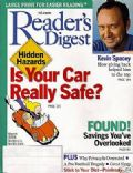 Kevin Spacey on the cover of Readers Digest (United States) - March 2003