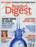 Katherine Heigl on the cover of Readers Digest (United States) - February 2008