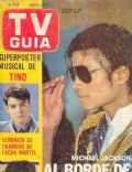 Michael Jackson on the cover of TV Guia (Argentina) - August 1984