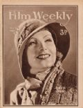 Greta Garbo on the cover of Film Weekly (United Kingdom) - March 1931