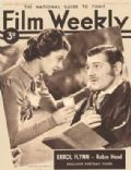 Clark Gable on the cover of Film Weekly (United Kingdom) - November 1937