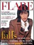 Yasmeen Ghauri on the cover of Flare (Canada) - August 1993