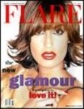 Yasmeen Ghauri on the cover of Flare (Canada) - November 1994
