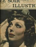 Loretta Young on the cover of Le Soir Illustre (France) - November 1937
