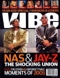 Jay-Z, Nas on the cover of Vibe (United States) - January 2006