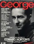 Edward Norton on the cover of George (United States) - October 1998