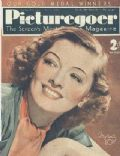 Myrna Loy on the cover of Picturegoer (United Kingdom) - May 1938