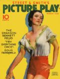Conchita Montenegro on the cover of Picture Play (United States) - March 1932