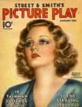 Tallulah Bankhead on the cover of Picture Play (United States) - January 1933