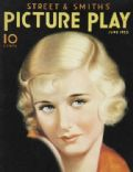 Joan Bennett on the cover of Picture Play (United States) - June 1933
