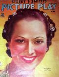 Merle Oberon on the cover of Picture Play (United States) - May 1935